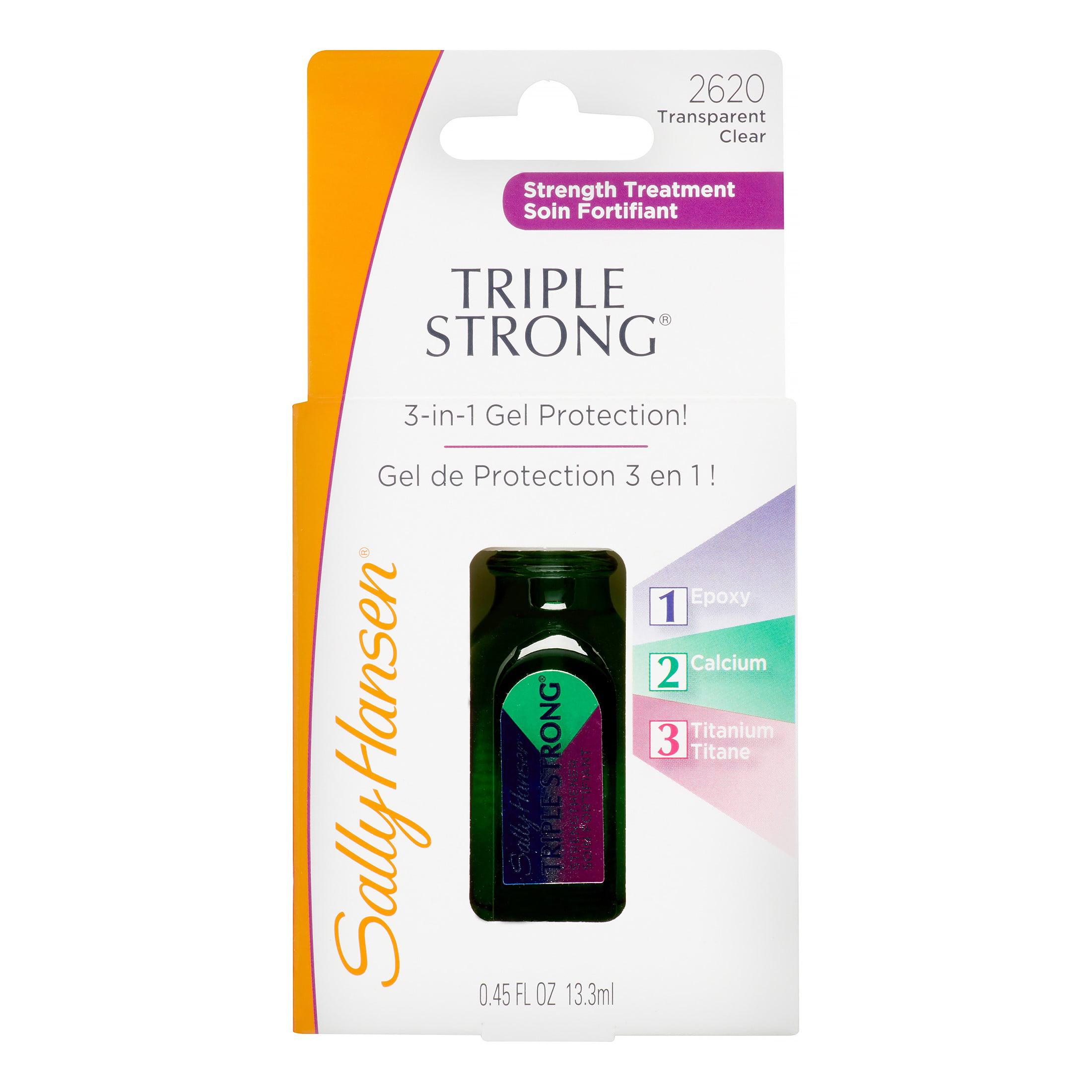 Coty Sally Hansen Triple Strong Strength Treatment, 0.45 oz