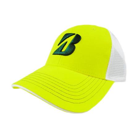 b2520cd2b53a32 NEW Bridgestone Golf Spring Collection Masters Yellow/Green Adjustable Hat/ Cap - Walmart.com