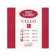 Super Sensitive Red Label Cello C String 3/4