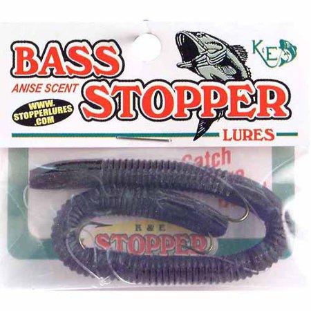 K&E Lures Original Bass Stopper, 3 Hook (Best Bass Lures For Ponds)