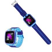 2019 UpdatedSmart Watch for Kids - Smart Watches for Boys Girls Smartwatch GPS Tracker Watch Wrist Mobile Camera Cell Phone Best Gift for Girls Children boy Pink Blue