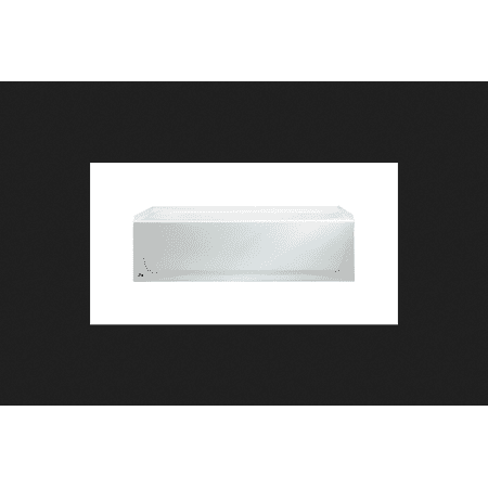 Bootz Ventura 14.25 in. H x 30 in. W x 60 in. L White Left Hand Drain Rectangular Bathtub ()