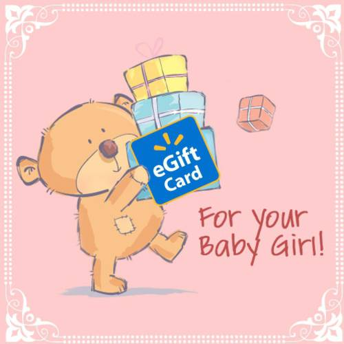 Baby Girl Walmart eGift Card