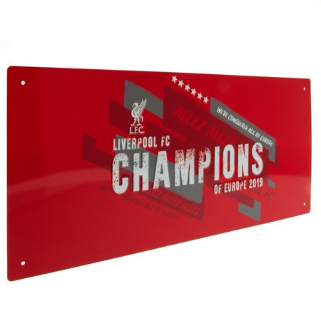 Liverpool FC Champions Of Europe Street Sign - image 2 of 3