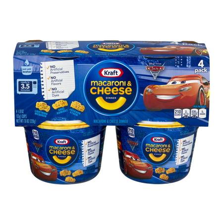 Kraft Disney Olafs Frozen Adventure Macaroni   Cheese Dinner 4 1 9 Oz  Cups