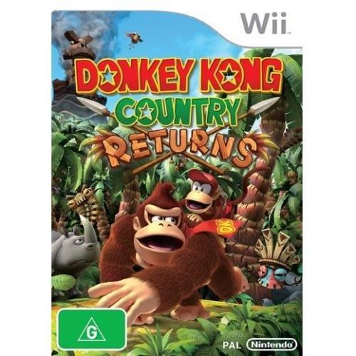 Nintendo Donkey Kong Country Returns - Action/Adventure Game - Wii