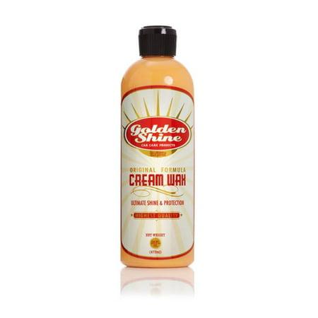 Golden Shine Car Care Liquid Carnauba Cream Wax 16oz