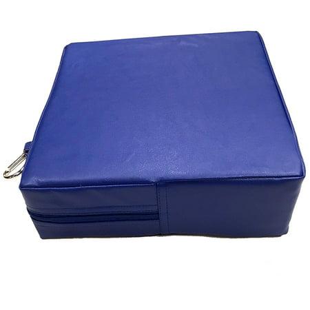American Educational Products SSZ58698 Senseez Blue Square Coussin Vibrant - image 1 de 1