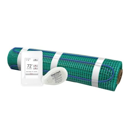Floor Heating Kit 240V-Tempzone Flex Roll 3.0' x 52' + Touch Screen Thermostat - image 1 de 1