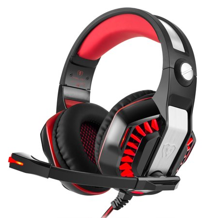 GM-2 Gaming Headset Over-ear Stereo 2 1m Cable LED Light Bass