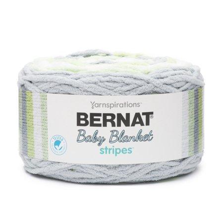 BERNAT BABY BLANKET STRIPES YARN (300 G/10 5 OZ), SPROUTS