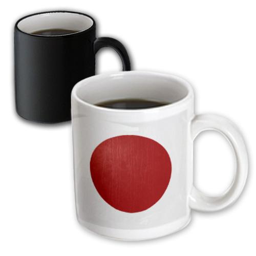 3dRose Japan Flag, Magic Transforming Mug, 11oz by 3dRose