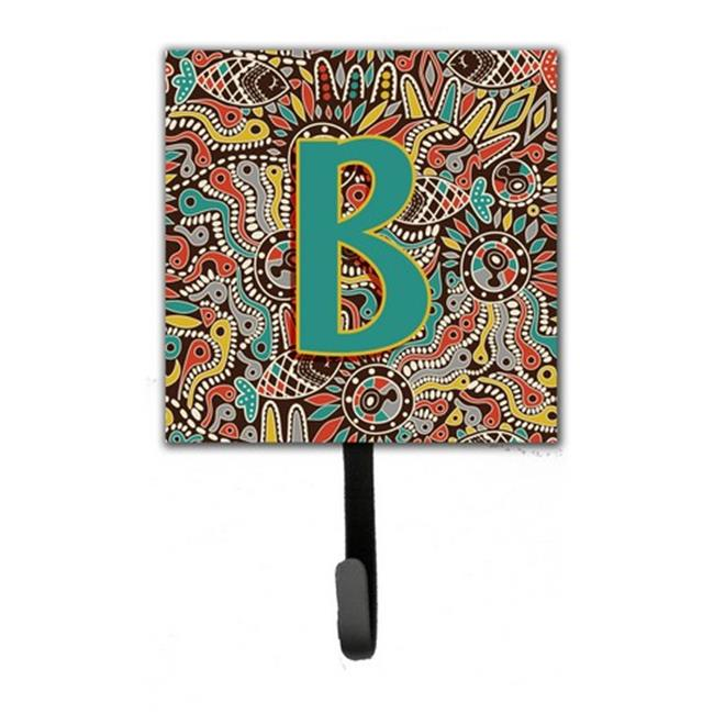 Carolines Treasures CJ2013-BSH4 Letter B Retro Tribal Alphabet Initial Leash & Key Holder - image 1 de 1