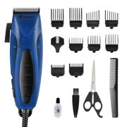 Jinghao Hair Clippers for Men, Corded Hair Clippers with 28 Adjustable Length, Hair Cutting Kit for Family Use (Blue)