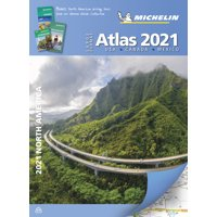 Michelin North America Large Format Atlas 2021: USA Canada Mexico (Paperback)