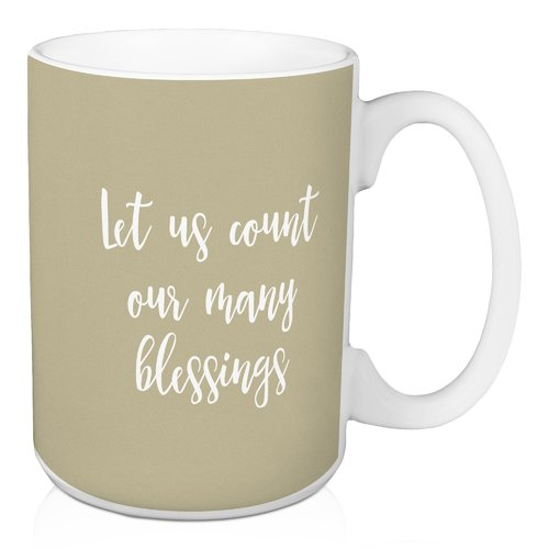 Winston Porter Nutter Let Us Count our Many Blessings Coffee Mug