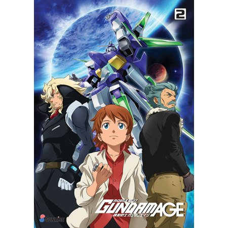 Mobile Suit Gundam Age TV Series: Collection 2 (DVD)