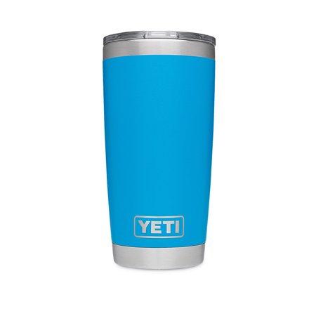 YETI Rambler 20 oz Stainless Steel Vacuum Insulated Tumbler Tahoe Blue