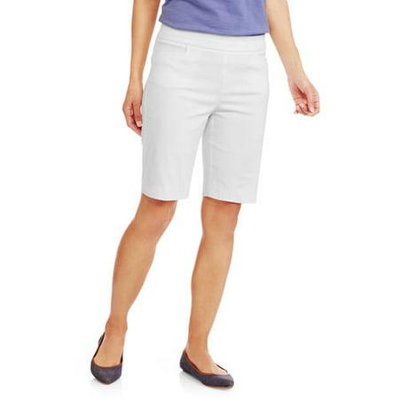 f7eee0ed9deb4 George - Women s Millennium Pull on Short - Walmart.com