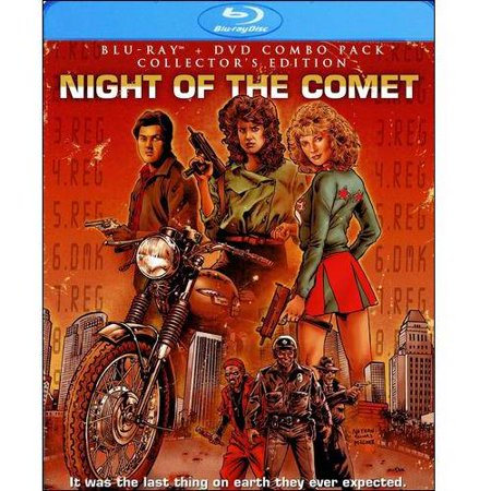 Night Of The Comet  Blu Ray   Dvd   Widescreen