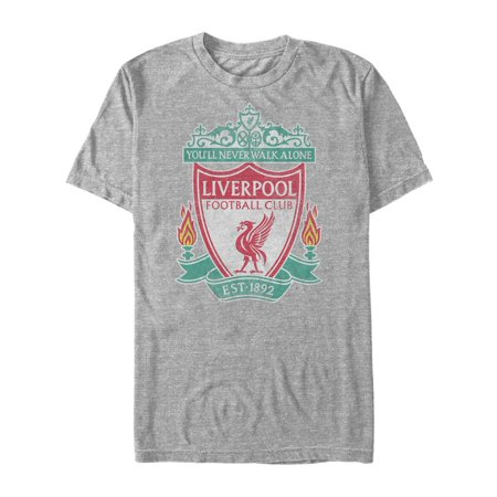 - Liverpool Football Club Men's Bird Shield 1892 T-Shirt
