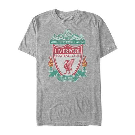 Liverpool Football Club Men's Bird Shield 1892 T-Shirt ()