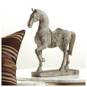 """Kensington Hill Rustic Horse 15 1/4"""" High Statue"""