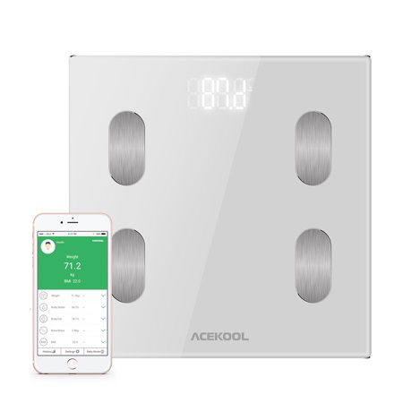 Fitness Scale (Digital Body Fat Weight Scale Electronic LCD Fitness Weight 400LB Bathroom Scale )