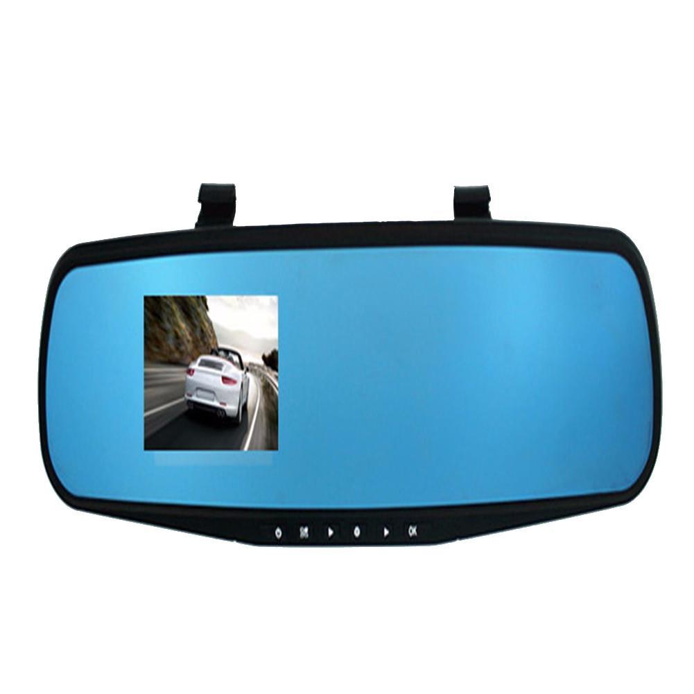 2.8/'/' HD 1080P Car Camera DVR Rearview Mirror Motion Detection Dash Cam Recorder
