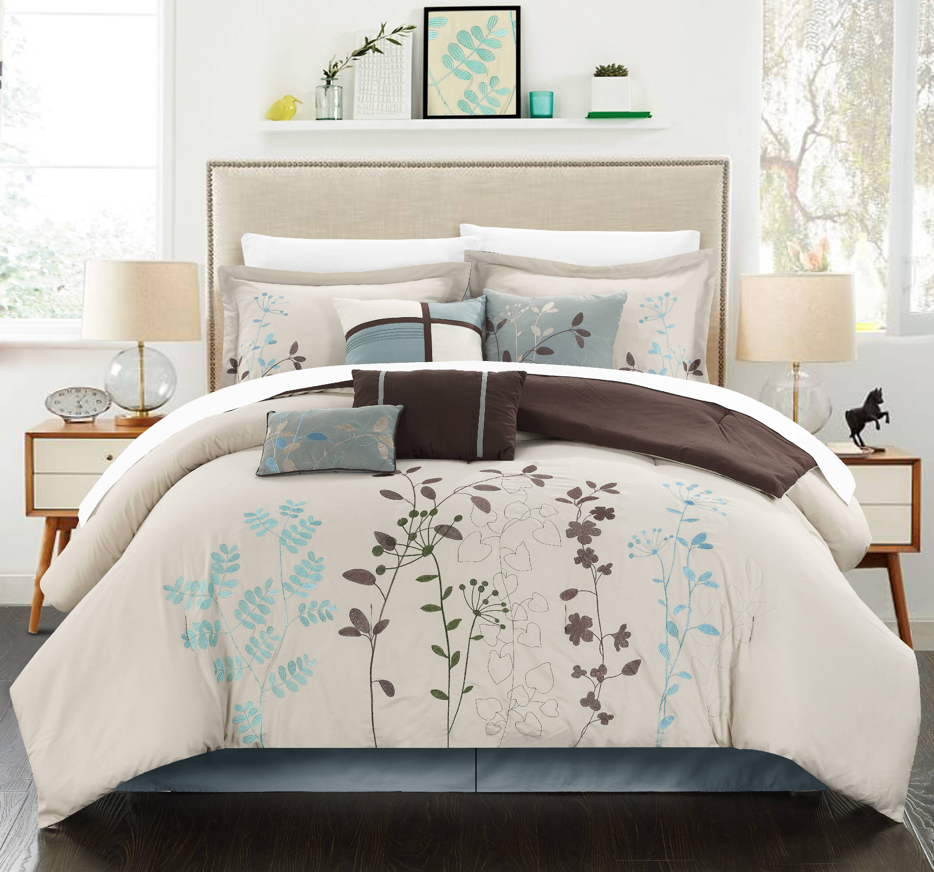 Chic Home Nits 12 Piece Bed in a Bag Comforter Set