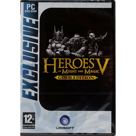 Heroes of Might & Magic V: Gold Edition PC DVD - Includes Heroes 5, Hammers of Fate, Tribes of the East & a Bonus (Heroes Of Might And Magic 3 Complete)