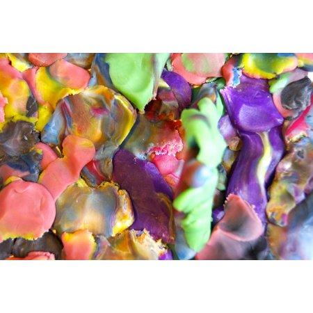 Framed Art For Your Wall Play Kindergarten Colorful Play Dough Plastic 10x13 - Halloween Kindergarten Clip Art