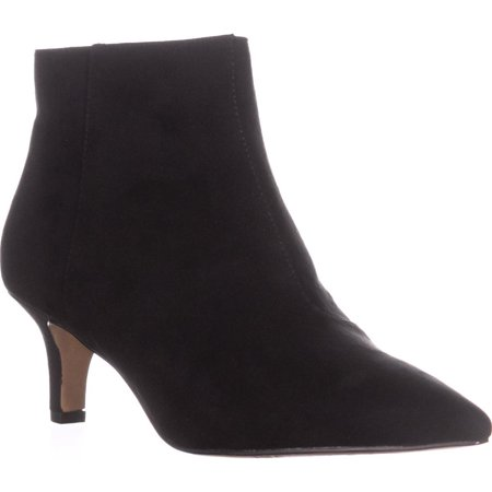 Womens I35 Zennora Kitten Heel Booties  Black