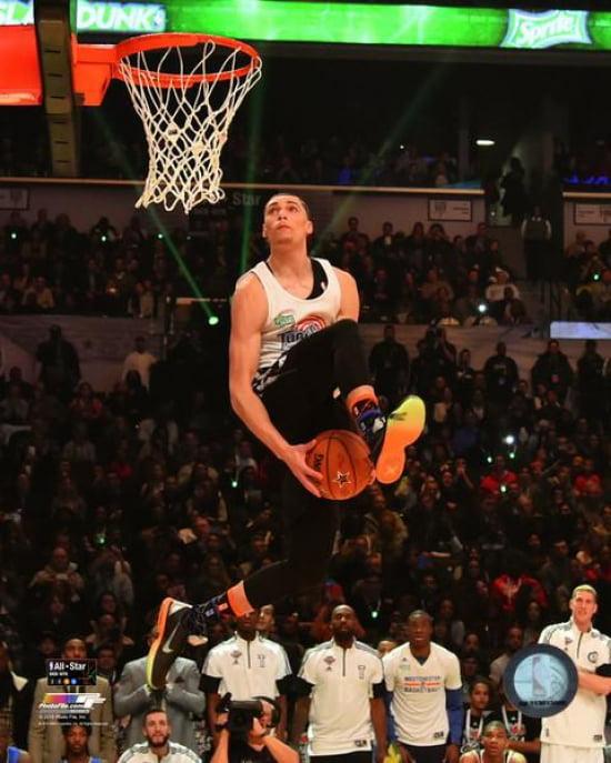 Zach LaVine 2015 NBA Slam Dunk Contest Action 2015 All