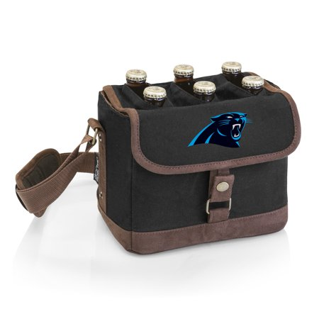 - Carolina Panthers Beer Caddy Cooler Tote with Opener - No Size