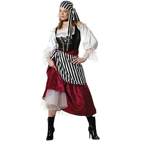 Serving Wench Halloween Costume (Pirate Wench Adult Halloween)