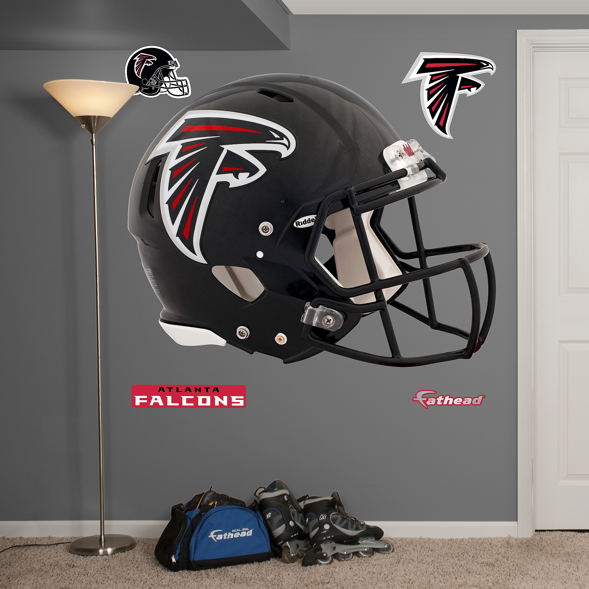Atlanta Falcons Revolution Helmet