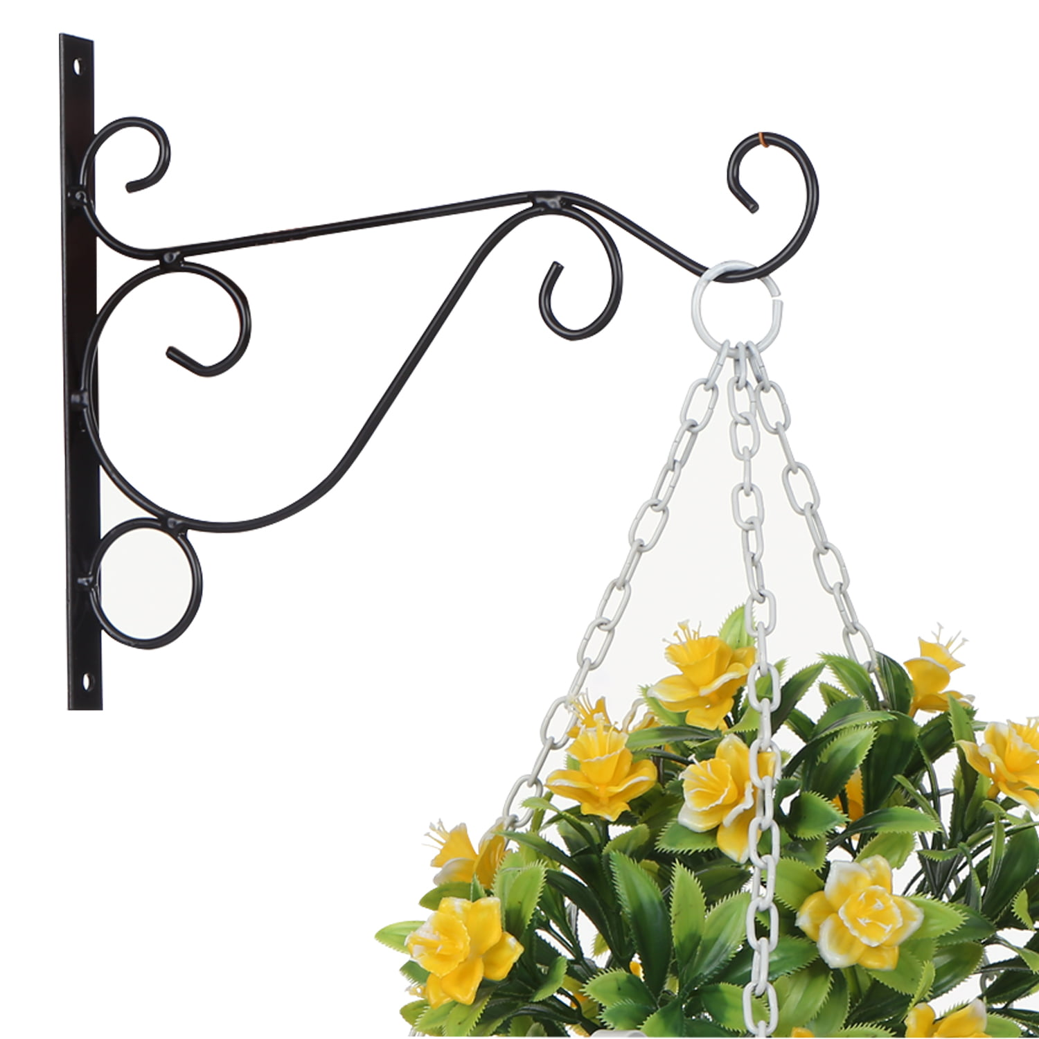 Plant Hanging Hooks Decorative Iron Wall Hooks Plant Hanging Hangers For Outdoor Indoor Planter Bird Feeder Lanterns Wind Chimes With Screws Walmart Canada