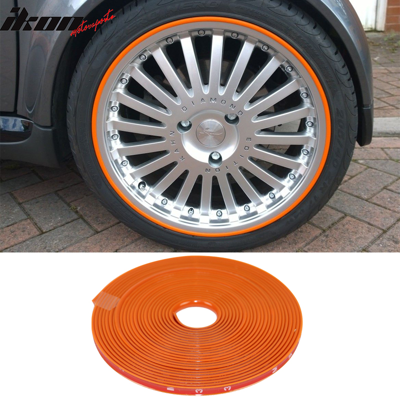 8M Wheel Rim Protector Trim Tire Guard Moulding Line Decoration Strip