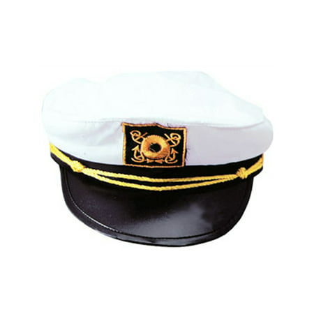 Captains Boat Yachting Yacht Sailing Fishing Hat Cap Costume Accessory - Captain Hat Halloween