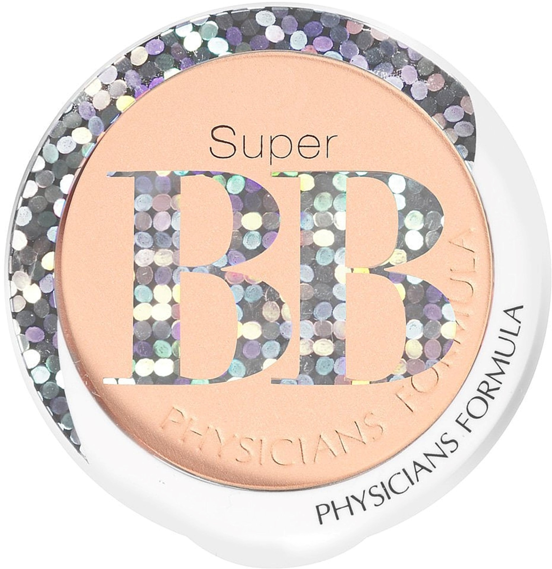 Physician's Formula Super BB All-in-1 Beauty Balm Powder, Light/Medium [7836] 0.29 oz (Pack of 4)