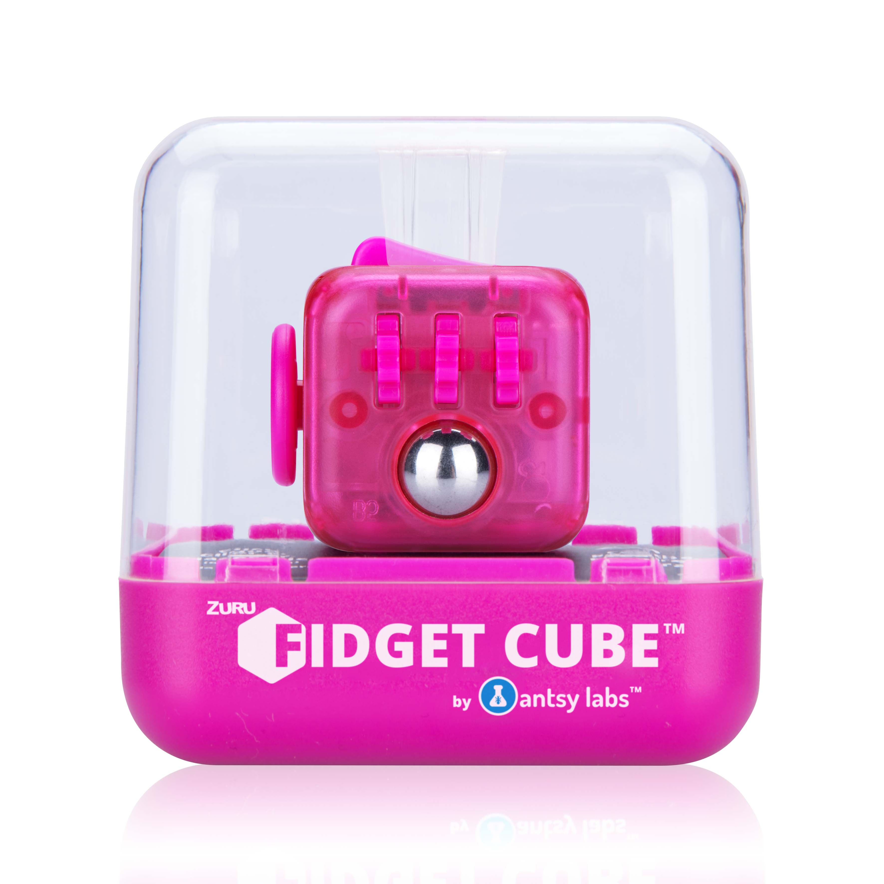 Fidget Cube by Antsy Labs Series 3 Glow In The Dark - Fidget Toy Ideal for  Anti-Anxiety, ADHD and Sensory Play by ZURU
