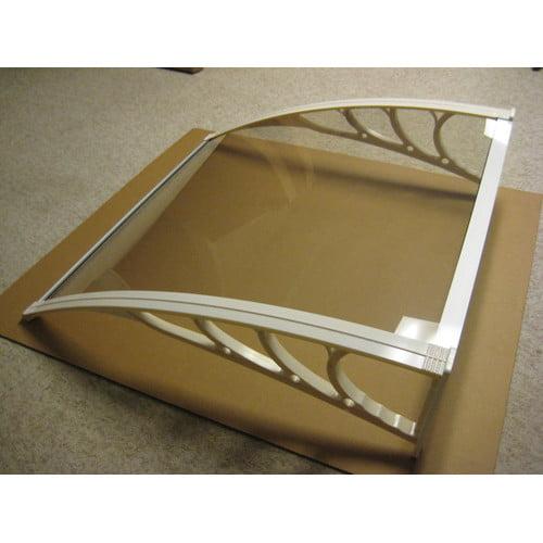 Denmir 6 ft. W x 3.5 ft. D Window & Door Awning