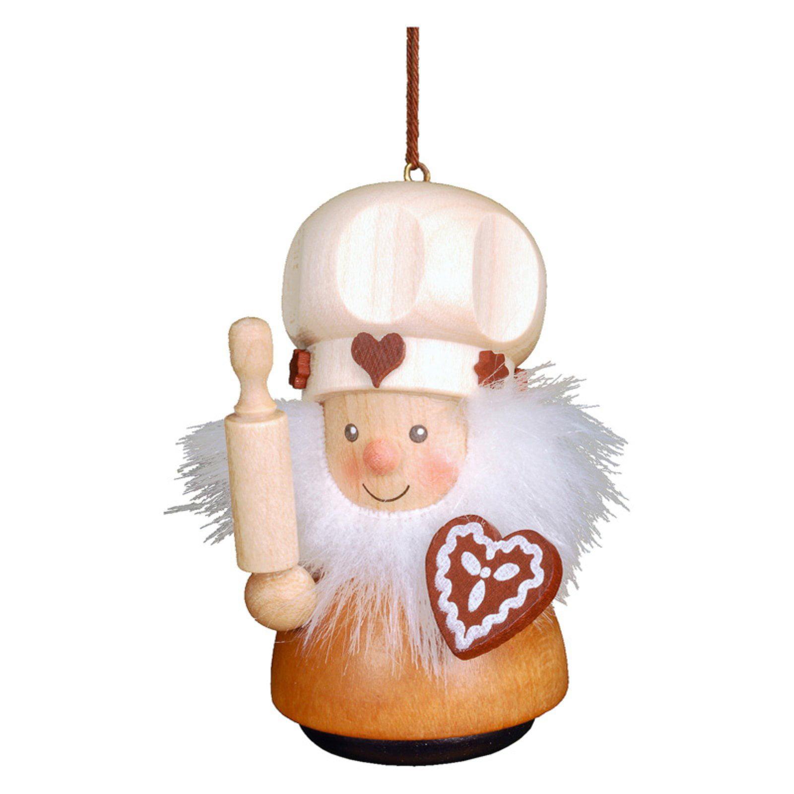 Christian Ulbricht 3 in. Gingerbread Baker Ornament
