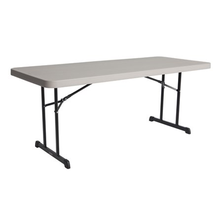 Lifetime Folding Table Professional 6 FT Putty