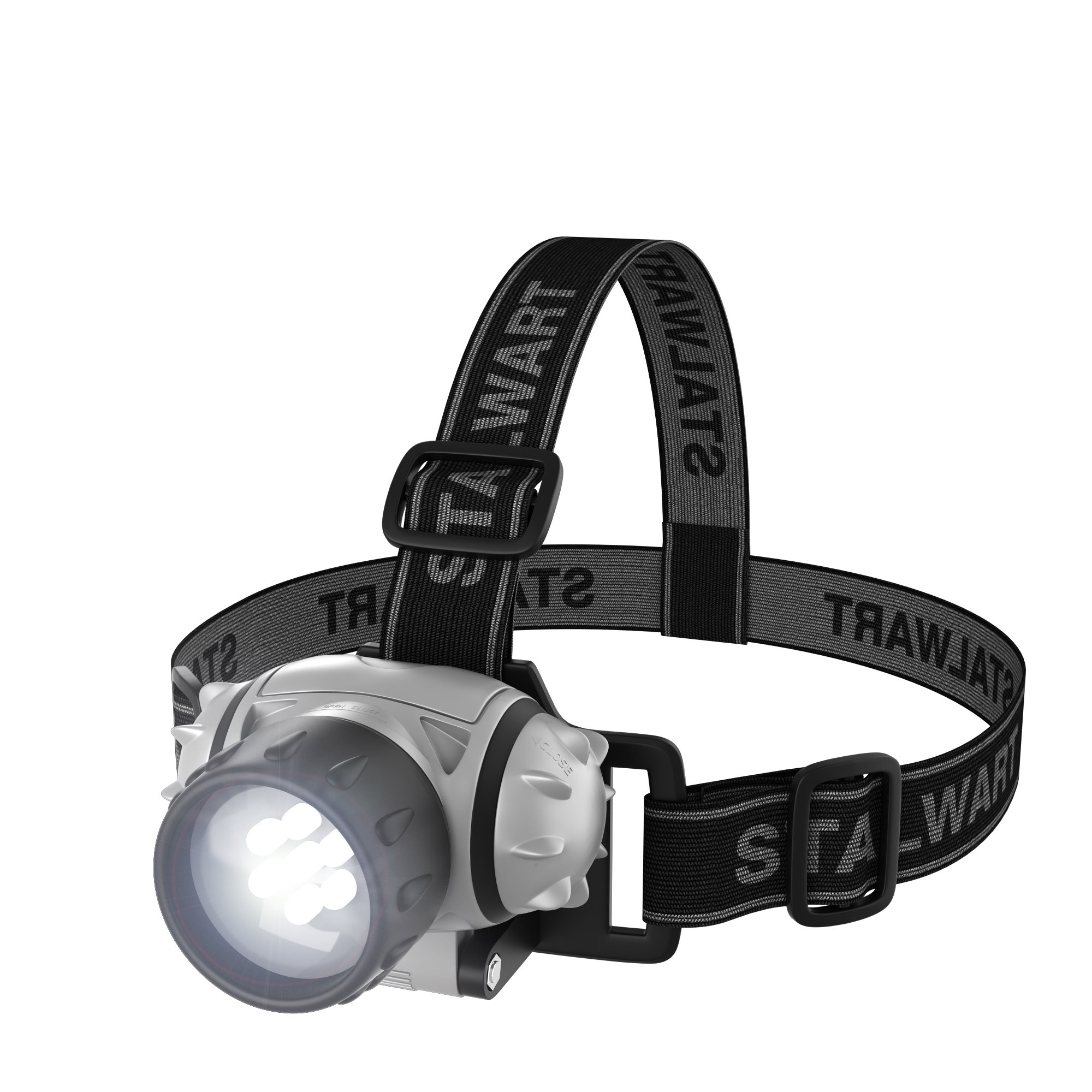 Stalwart 7-LED Headlamp with Adjustable Strap