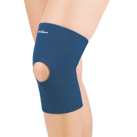 Fla Pediatric Neo Knee Sleeve Open Patella Large Navy