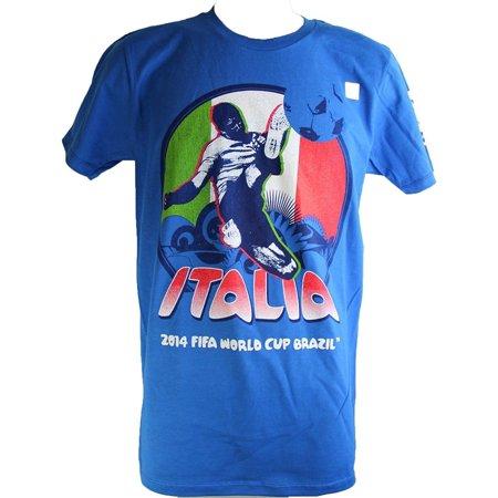 Fifa World Soccer Cup (FIFA 2014 World Cup Italy Soccer Tee Shirt (Men's))