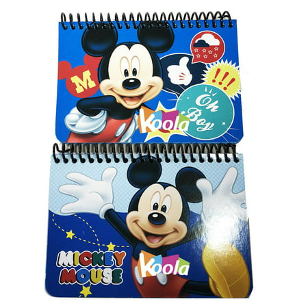 2x Disney Mickey Mouse Party Favors Autograph Memo Pad Mini Note Book