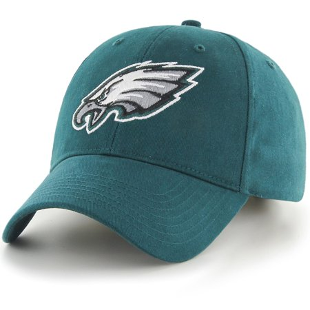 Youth Fan Favorite Green Philadelphia Eagles Team Basic Adjustable Hat - OSFA Green Basic Logo Hat